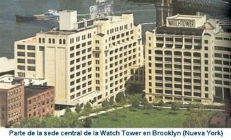 Parte de la Sede Central de la Watch Tower Bible
