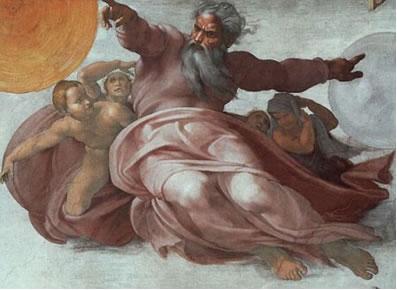 La Creacion del cielo de Miguel Angel