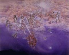 Y por encima de todo está el Gran Centro, que liga las suaves influencias de las estrellas. (P. 183)