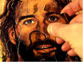 El rostro de Jesus en el rompecabezas