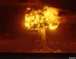 Hongo de una Explosion Nuclear