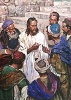 Jesus y el dinero dentro del pez