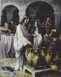 Jesus en las Bodas de Cana
