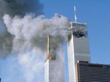La segunda torre acaba de ser impactada