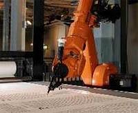 Robot que copia la Biblia Luterana amano