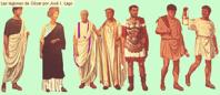 Vestimentas ciudadanos romanos