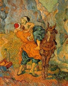 El Buen Samaritano, de Van Gogh