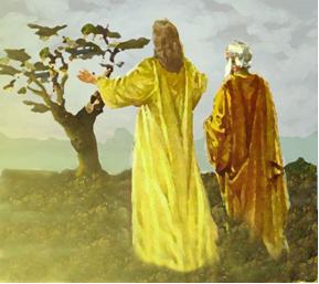Jesús maldice la higuera