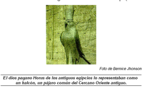 Dios Pagano Horus