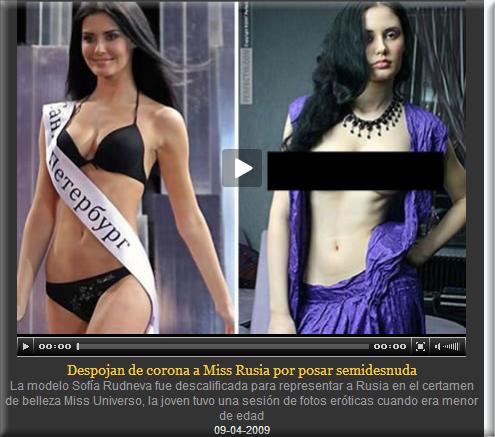 Esclava de la reina de belleza rusa desnuda