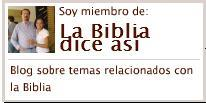 Blog La Biblia dice así